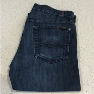 Mens 7 for All Mankind Blue Jeans